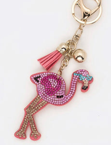 Flamingo Keychain/Bag Charm