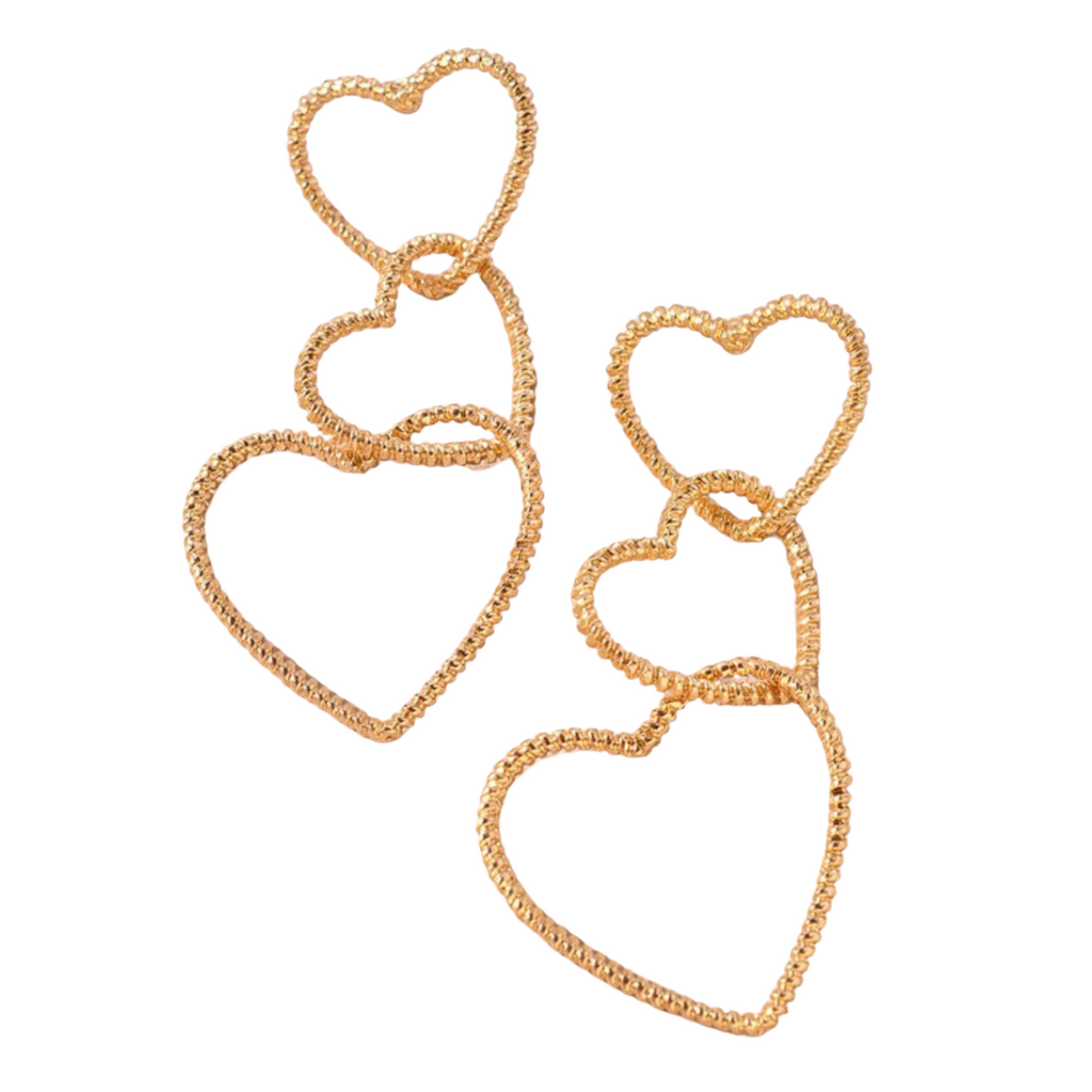 Alyson Heart Drop Earrings