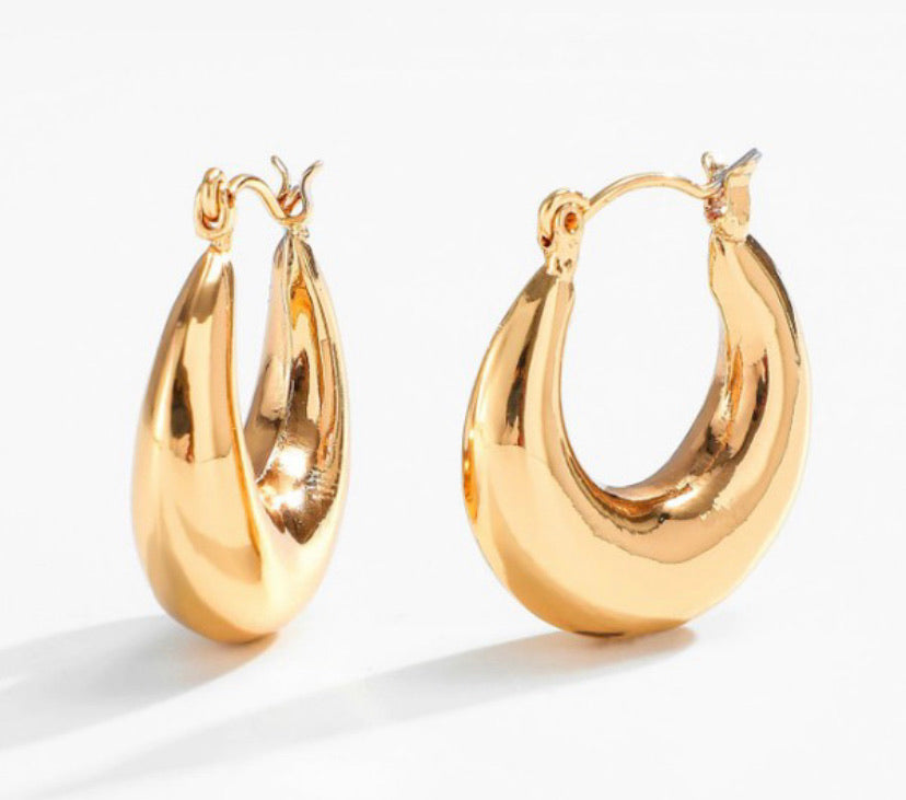 Mariah Hoop Earrings