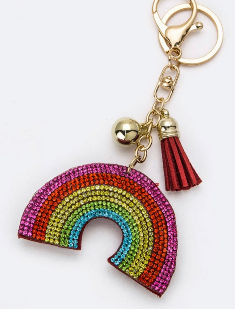 Rainbow Keychain/Bag Charm