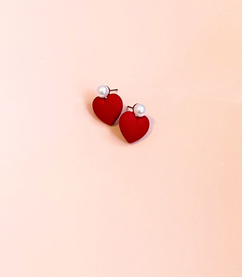 A Little Love Stud Earrings