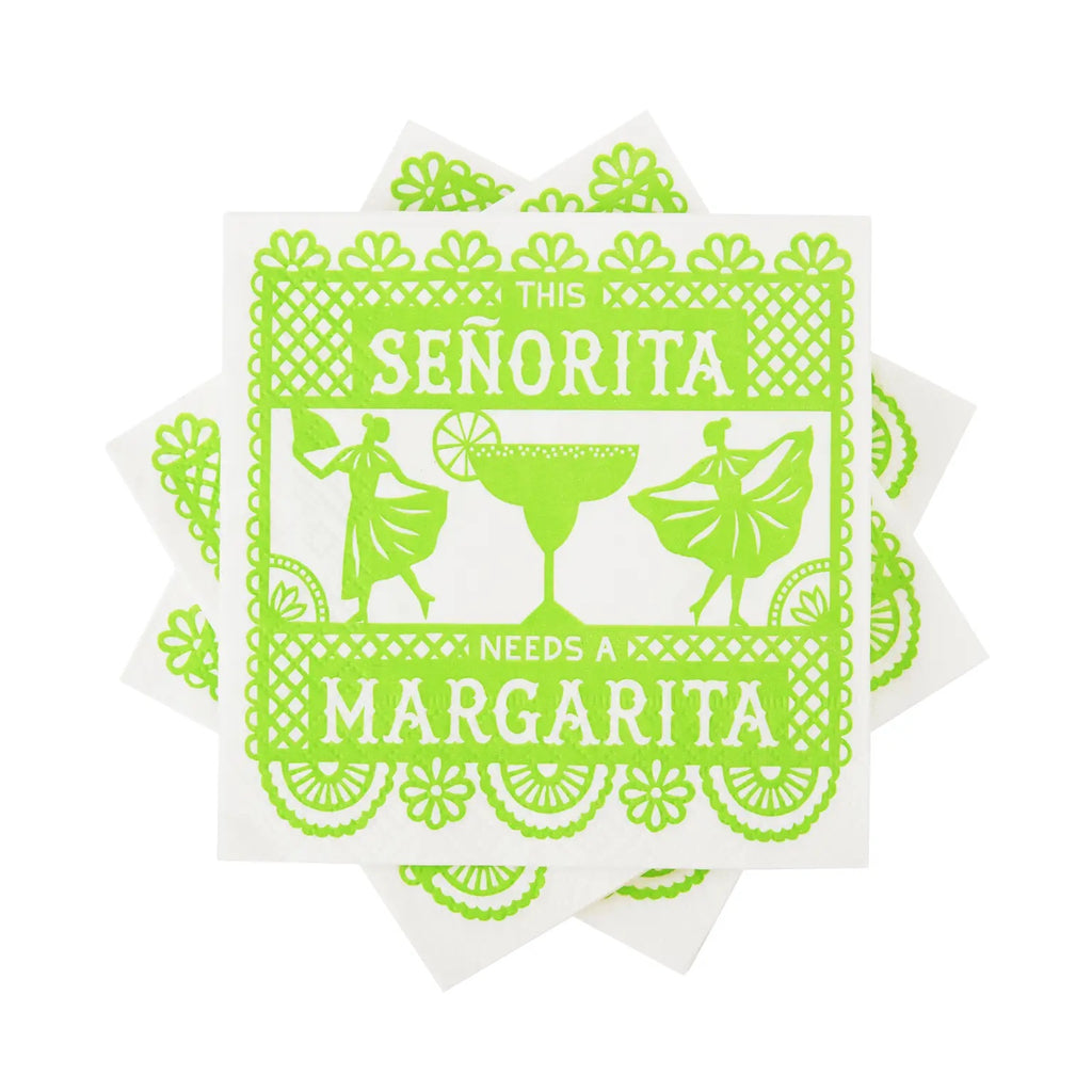 Margarita Please Cocktail Napkins