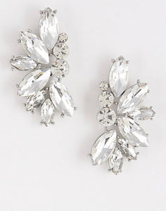 Janay Bridal Cluster Studs