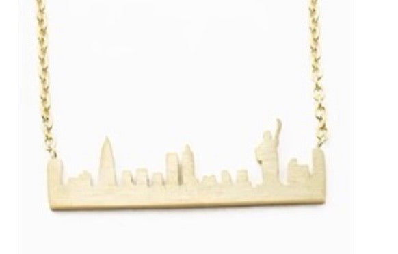 Liberty Skyline Necklace