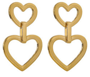Love Duo Drop Earrings