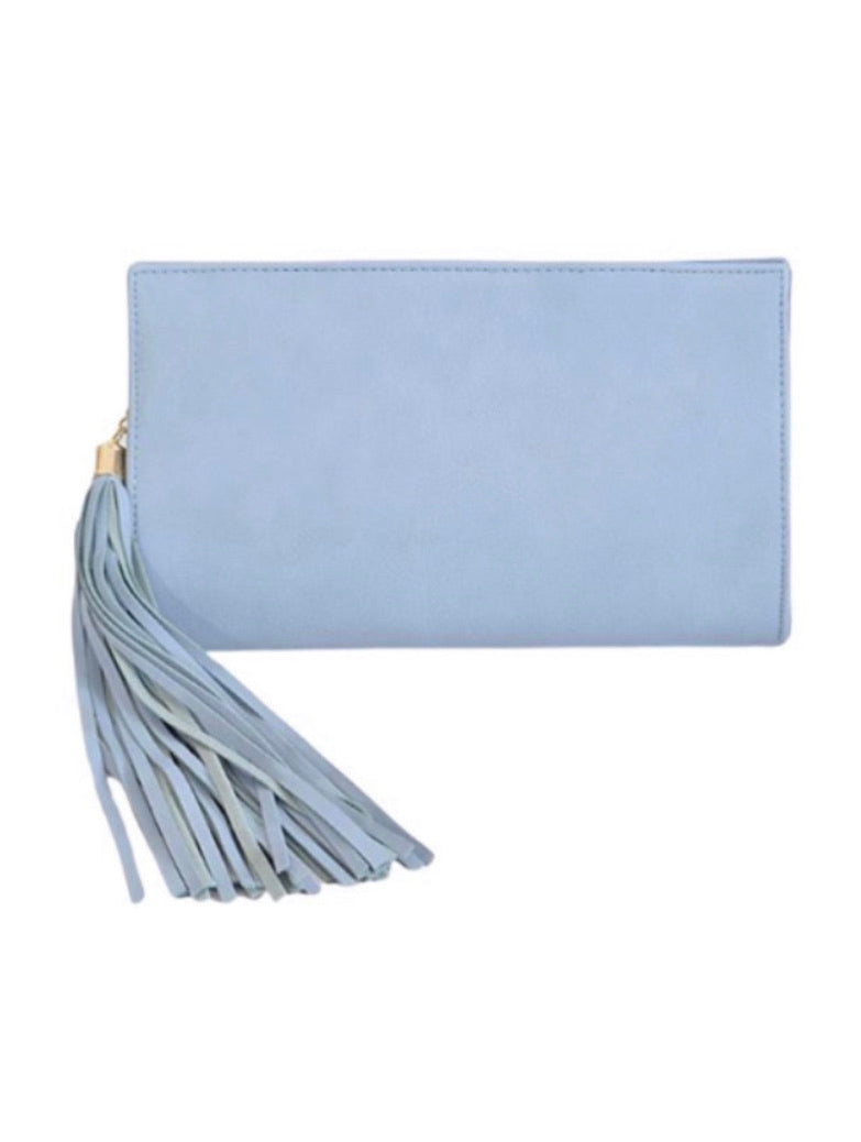 Aston Tassel Clutch/Crossbody