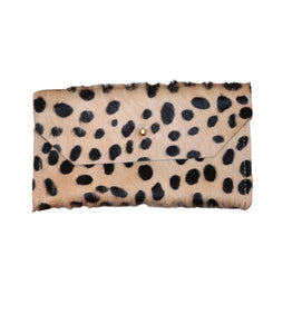 Cheetah Phone/Envelope Clutch