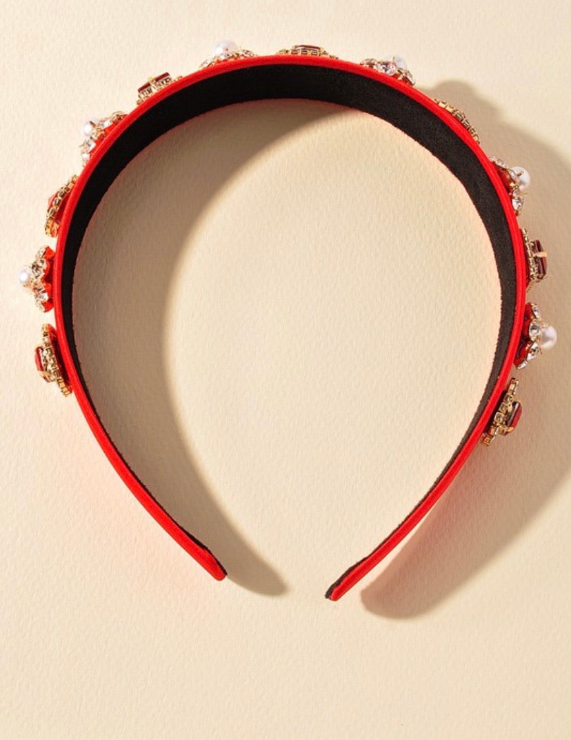 Ruby Embellished Headband