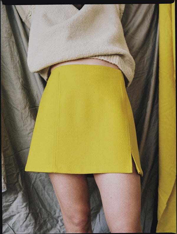 Pensamiento Skirt Yellow