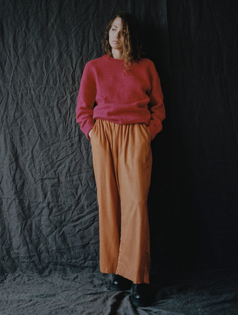 Edra Trousers Burnt Orange