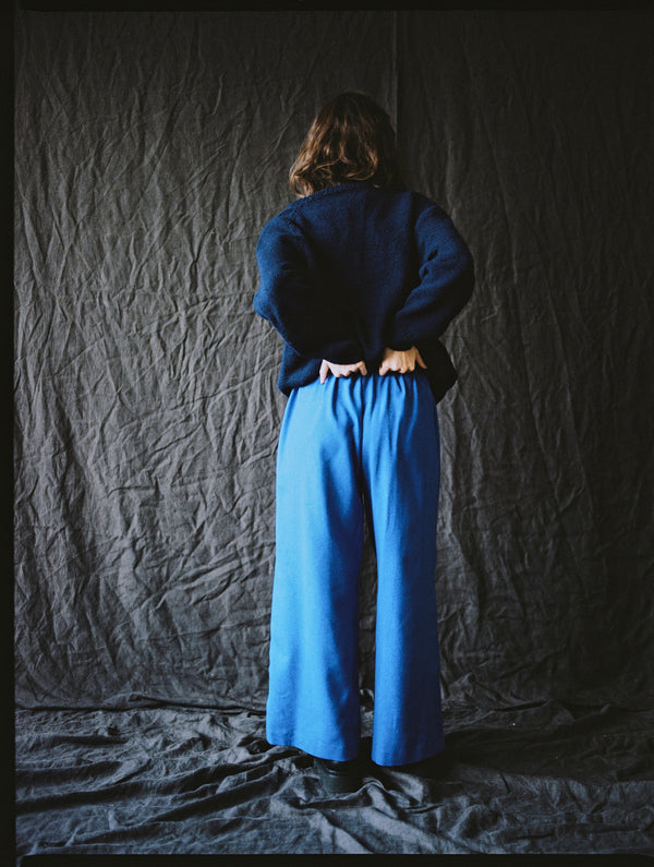 Edra Trousers Klein Blue