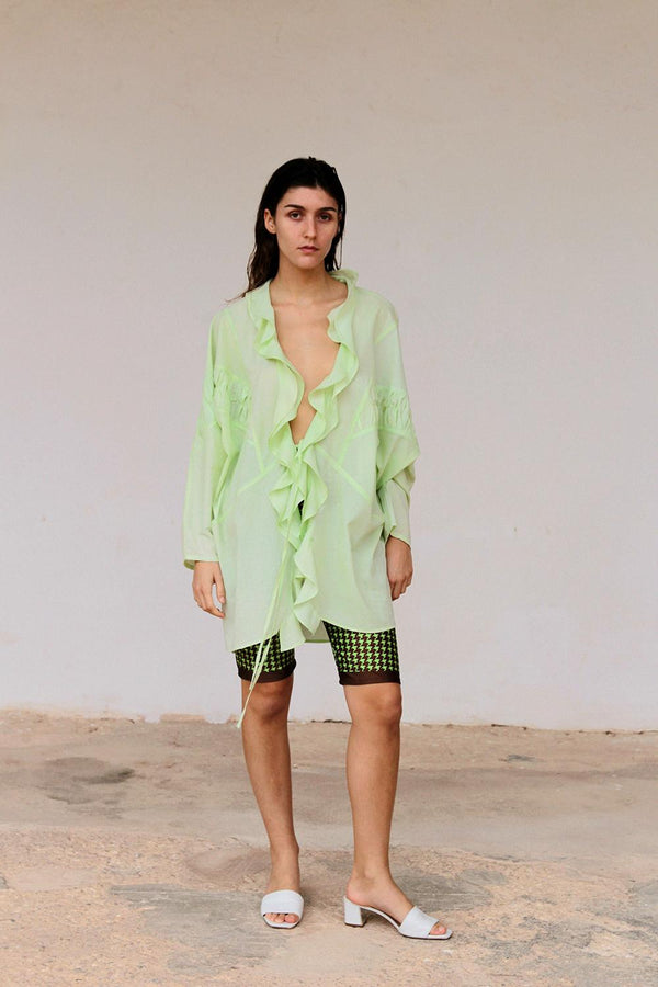 Margarita shirt dress