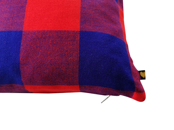 Masai Sofa Cushion Checked
