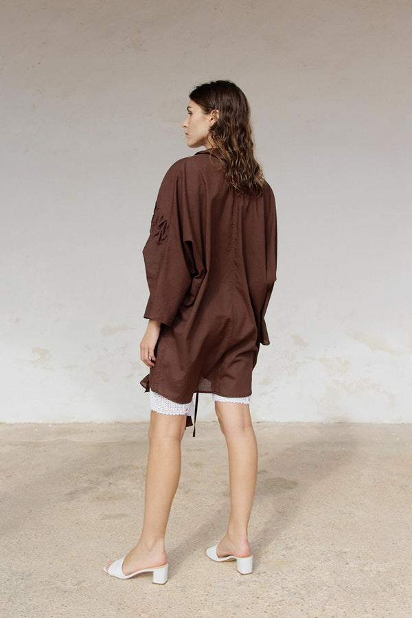 Morera shirt dress