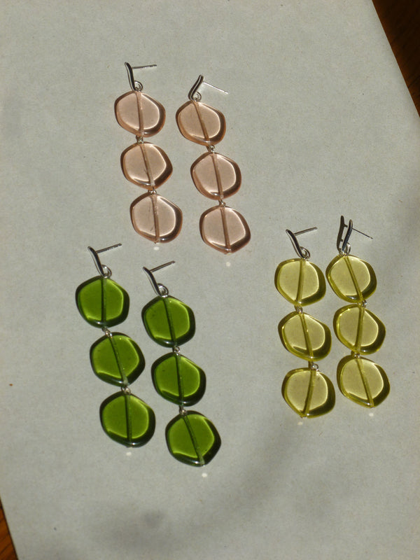 Agnes Earrings Green