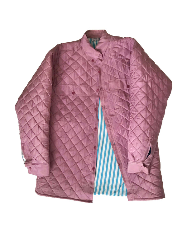 Michelle Quilted Upcycled Bomber