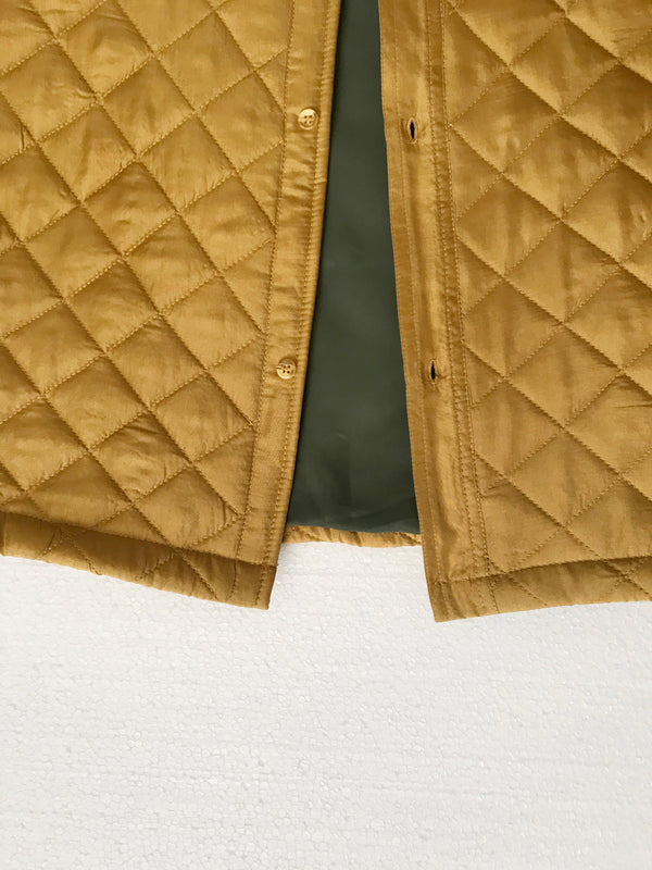 Elsie Quilted Upcycled Bomber