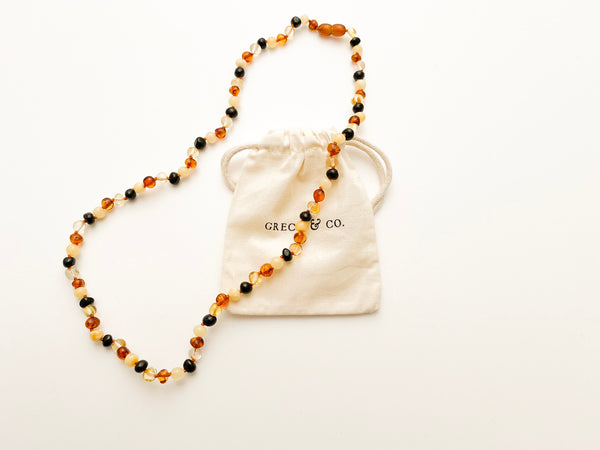 Baltic Amber - Adult Necklace Faith
