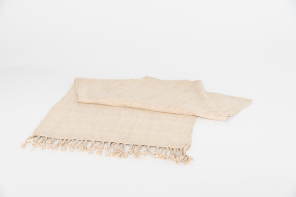 Lotus Root Scarf Beige