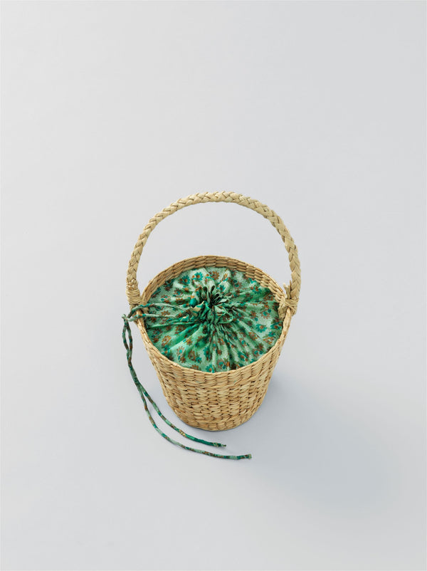 Round Mini Straw Bag