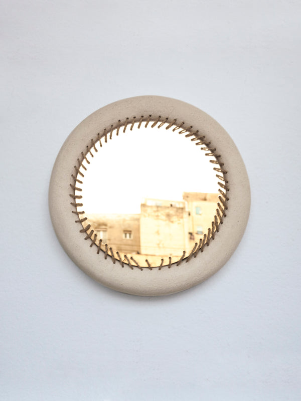 Amanecer Stitched Wall Mirror