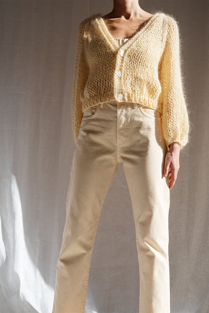 Airy Mohair Cardigan