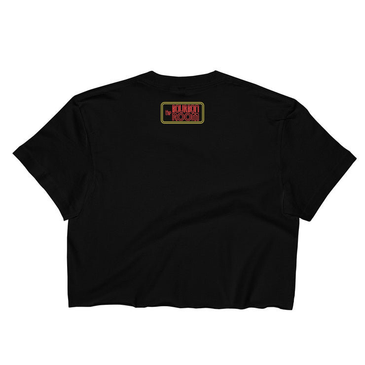 Women's Crop Top, The Bourbon Room, American Apparel