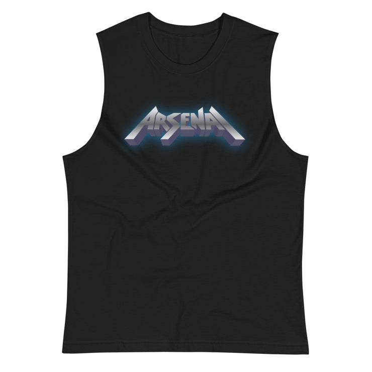 Sleeveless Tee, Arsenal, Rock of Ages Hollywood Logo on Back