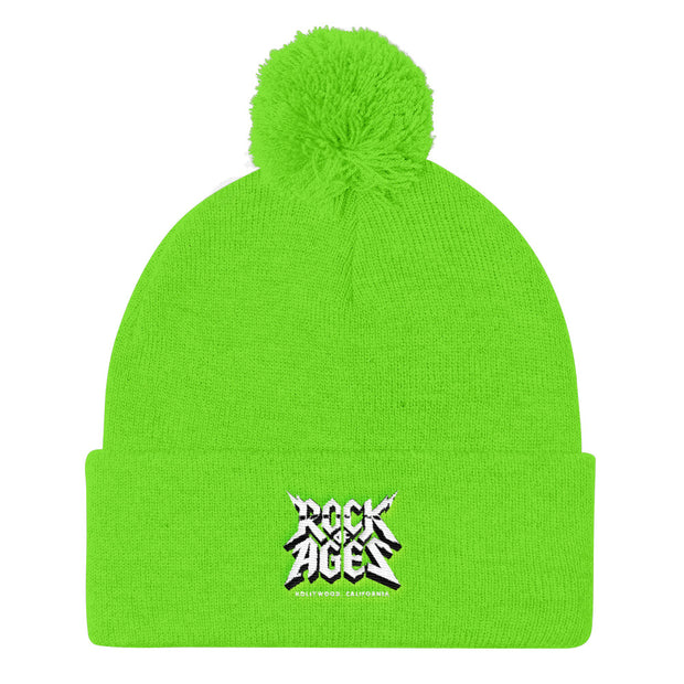 Pom Pom Knit Beanie, Rock of Ages Hollywood