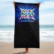 Starry Night Beach Towel, Rock of Ages