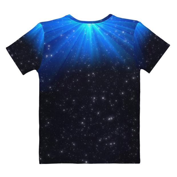 All-Over Print, Starry Night Women's T-Shirt, Rock of Ages Hollywood