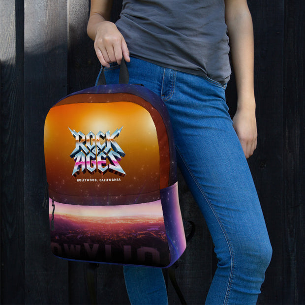 Hollywood Sunset Backpack, Rock of Ages Hollywood