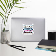 Indoor/Outdoor Vinyl Stickers, Die Cut, Rock of Ages