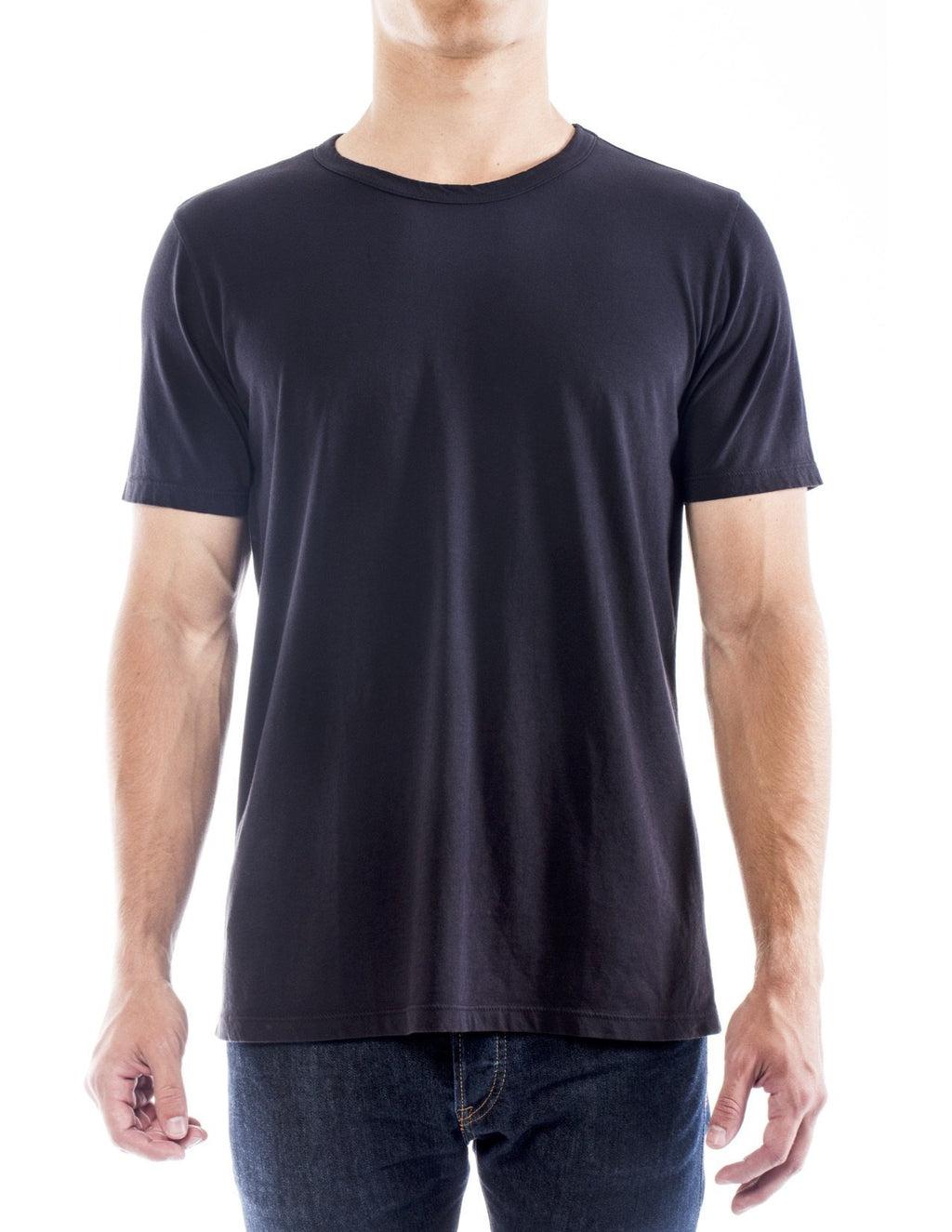 Classic Supima Cotton Crew - Leisure of NYC. Men's Supima Cotton T-shirt.