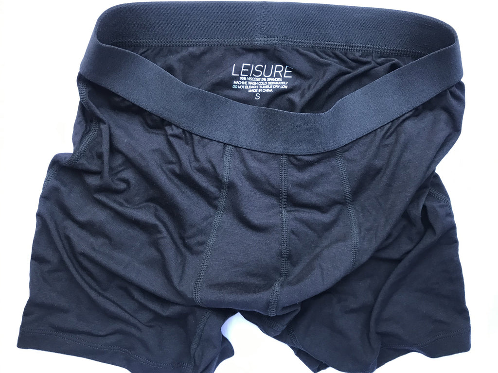 Men's Soft Boxer Briefs - Leisure of NYC - No Azo Dyes