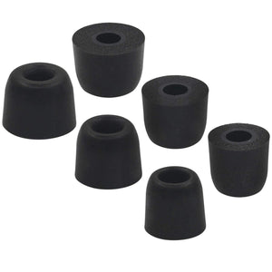 Upgraded Memory Foam Ear Tips for All Models - Maximum Noise Isolation and Comfort