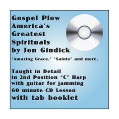 Gospel Plow: Cross Harp Spirituals CD and Booklet