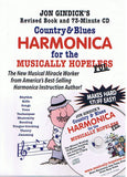 The Revised Country & Blues Harmonica for the Musically Hope(less)ful Book & CD
