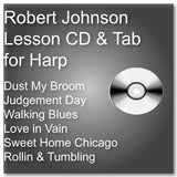 The Robert Johnson Lesson CD and Notation Sheet