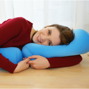 De-Stress Yourself with a Microbead Bolster Pillow !!