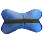 Squishy Deluxe Microbead Bone Shaped Comfy Lumbar Pillow