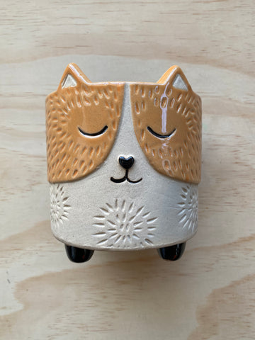 Ginger Cat Planter LRG
