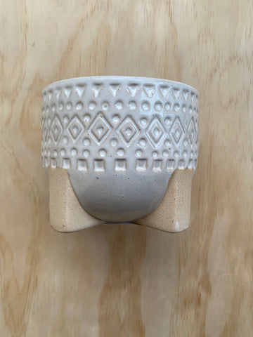 Zuri Planter White