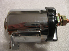 CHROME HARLEY SOLENOID 1965-81 BIG TWIN 4 SPEED