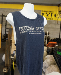 Intense Attire Ladies Blue Tank