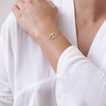 ONE EARTH - Bracelet Silver <br>