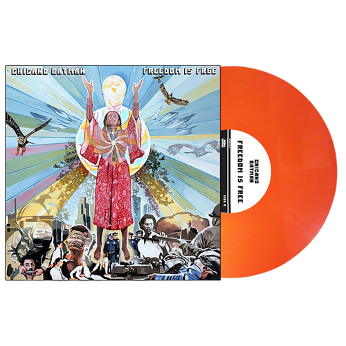 Chicano Batman - Freedom Is Free Opaque Orange Vinyl