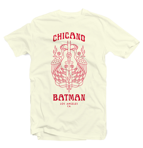 Chicano Batman - Peacock Tee (Natural)