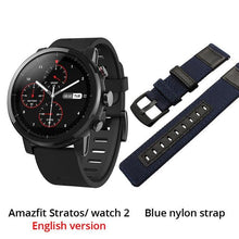 Load image into Gallery viewer, Huami Amazfit 2 Amazfit Stratos Pace 2 Smart Watch Men with GPS Xiaomi Watches PPG Heart Rate Monitor 5ATM Waterproof