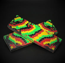 Load image into Gallery viewer, Aluminum Honeycomb and Urethane Resin Custom Knife Scales #20521